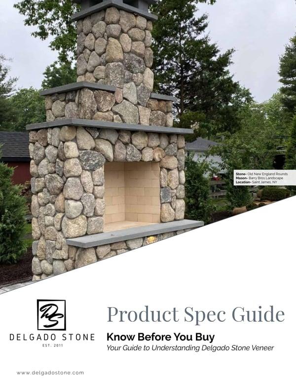 Delgado Stone Veneer Spec Guide