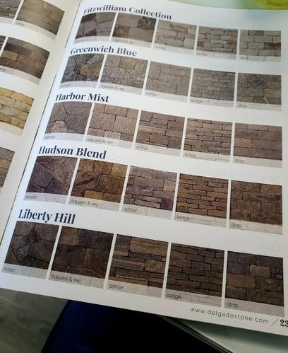 Delgado Stone Catalog