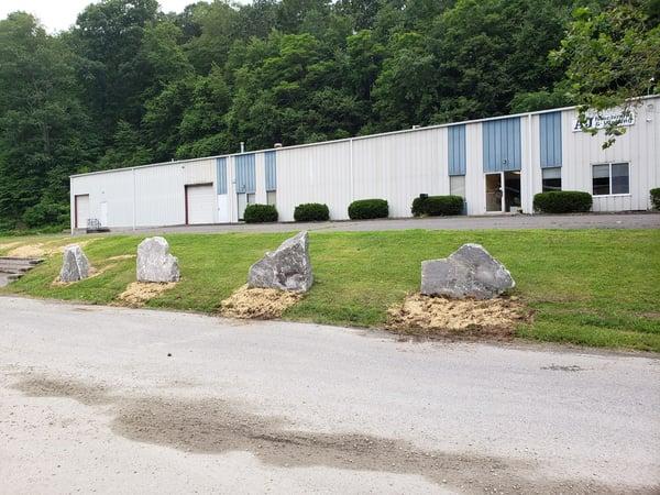 Monolithic Landscape Stone
