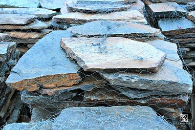Real flagstone for patios and pools