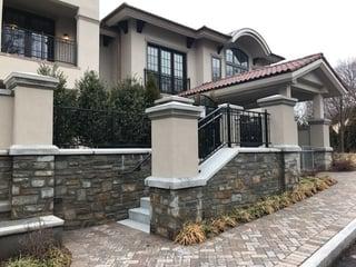 Stone Veneer Architecture