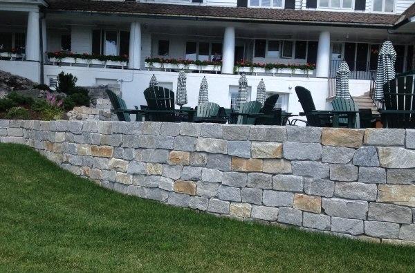 Harbor Mist Stone Wall