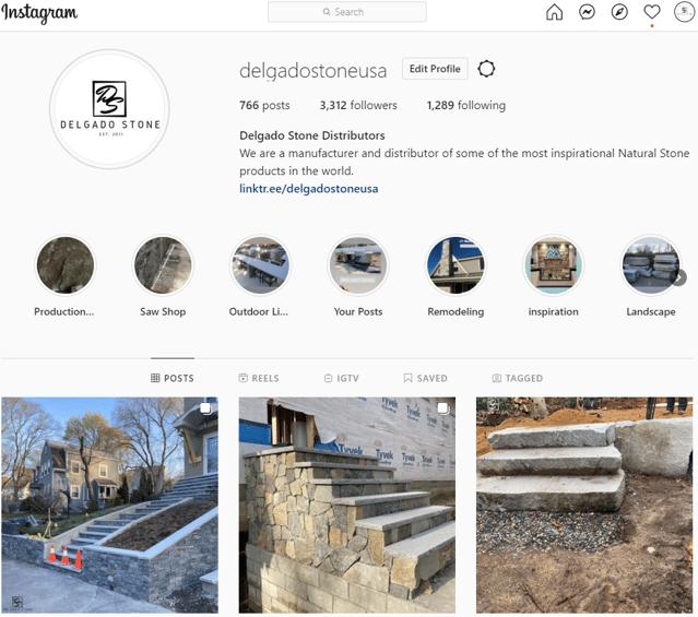 Delgado Stone Instagram