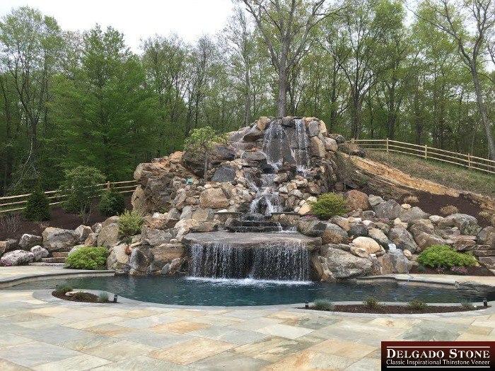 Natural Stone Pool Design