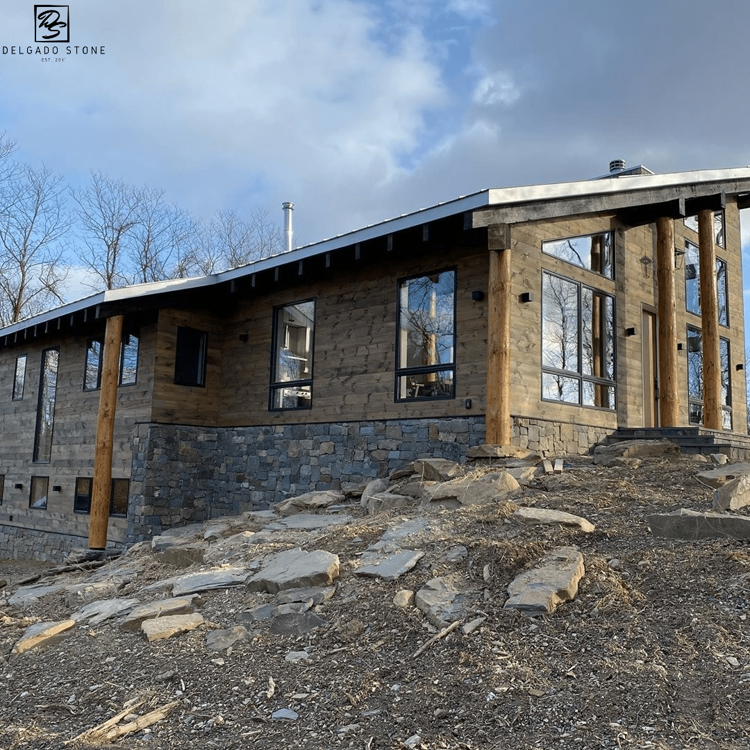 Natural Stone on a house