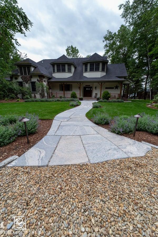 Granite Pavestone Walkway
