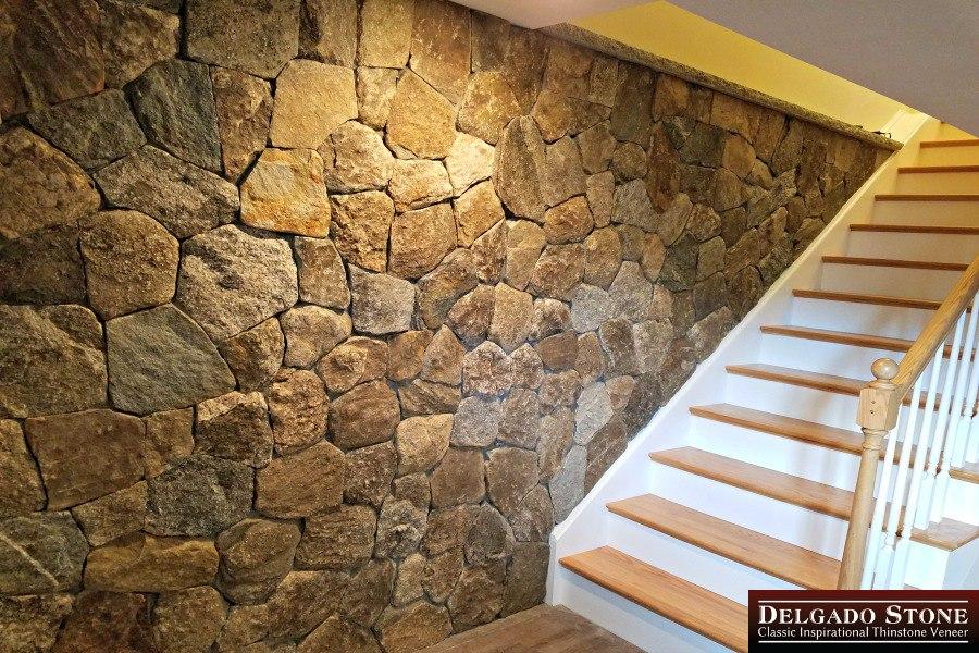 Old New England Wall Natural Stone Mosaic
