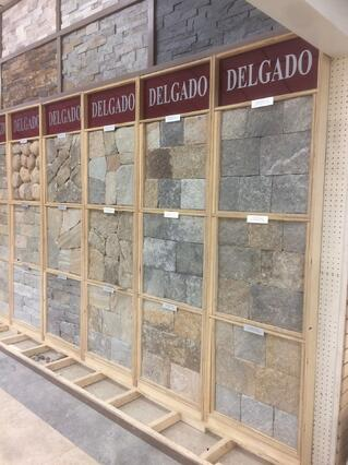 Delgado Stone Dealer Display
