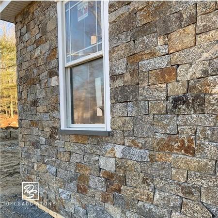 Real Stone Siding