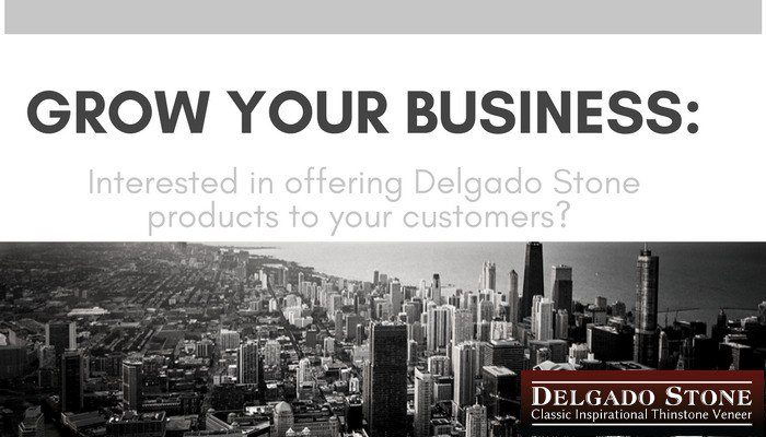 Become a Delgado Stone Dealer